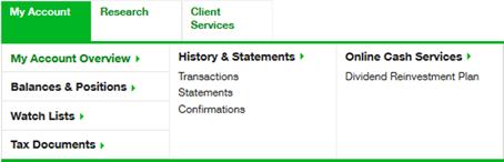 ClientAdvisor statements